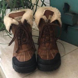 UGG Brown Adirondack Boots